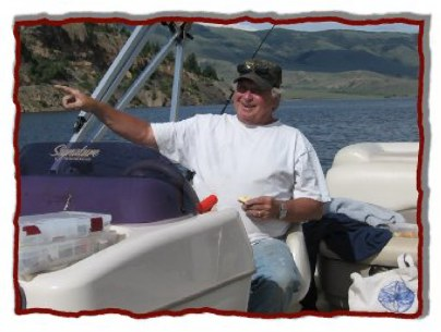 Lake fishing guide, Dale Mitchener.